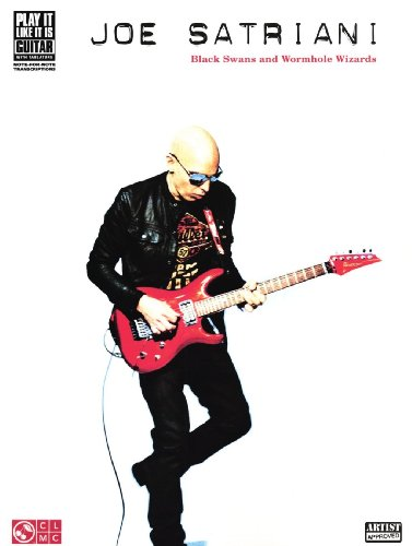 Hal Leonard Joe Satriani: Black Swans And Wormhole Wizards Guitar Tab Songbook (Satriani Joe Tabs Guitar)