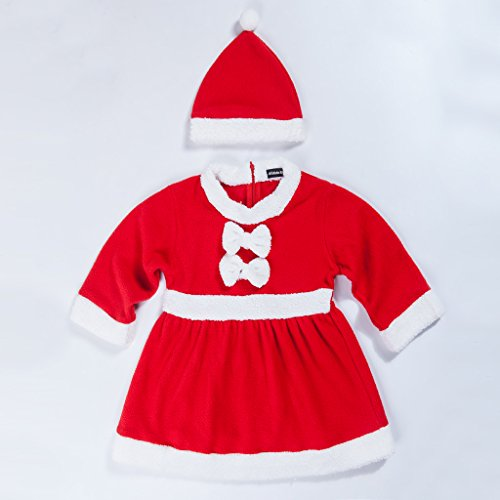 adoy-kids-santa-romper-costume-with-hat-for-infant-and-toddler-christmas-costumes-700-6month-red-gir