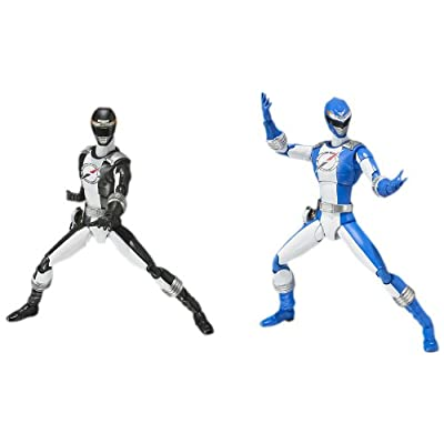 Bandai Tamashii Nations Overdrive Ranger Power Rangers Operation Overdrive S.H.Figuarts Action Figure, Blue and Black: Toys & Games