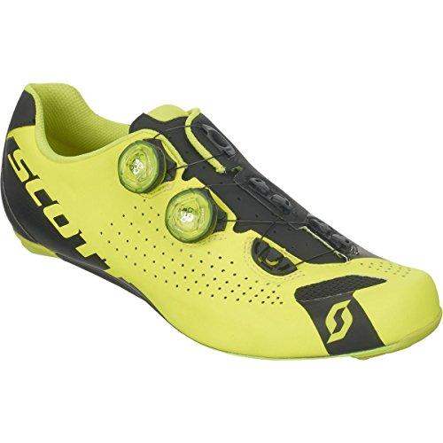 遵守する漏斗分析(スコット) Scott Road RC Shoe メンズ ロードバイクシューズNeon Yellow/Black [並行輸入品]