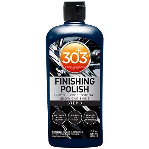 303 Finishing Polish for The Professional Show Car Shine – Maximum Paint Clarity – Mirror Like Finish – Removes 2500…