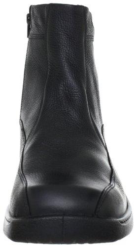 Gamba Schwarz Imbottiti Nero Uomo Neve Feetback 45 Jomos da 000 Mezza Scarponi a nvxAT0wqgH