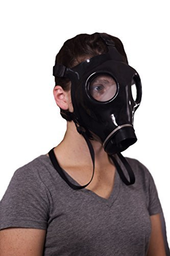 Rubber Respirator Mask NBC Protection For Industrial Use, Chemical Handling, Painting, Welding, Prepping
