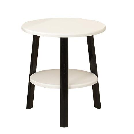 Amazon.com: HANSHAN mesa auxiliar mesa auxiliar, mesa ...