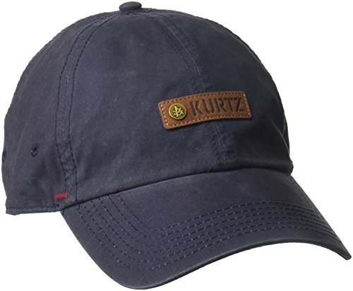A. Kurtz Men's Chino Corps Baseball, Infantry Blue, OSFA ()