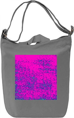 Abstract Colorful Print Borsa Giornaliera Canvas Canvas Day Bag| 100% Premium Cotton Canvas| DTG Printing|