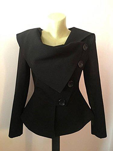 Blazer Jacket White Cotton Jacket Tailored Jacket Asymmetrical Coat Long Sleeve Jacket Punk Jacket Avant Garde Jacket Flared Jacket