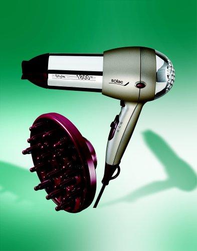 Solac E 204 N2 07638.1 Style - Secador de pelo