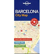 Lonely Planet Barcelona City Map 1st Ed.