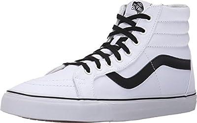 Vans Canvas Sk8-Hi Reissue Unisex   True White/Black (3CAIP2)