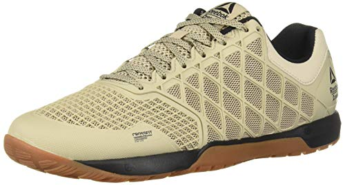 Reebok Men's CROSSFIT Nano 4.0 Cross Trainer, Light Sand/Black Rubber Gum, 11 M US