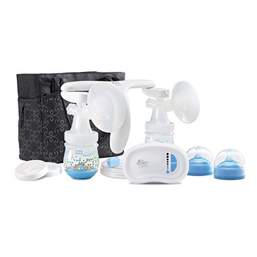 The First Years Double Breast Pump, Quiet Expressions by The