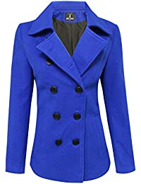 Amazon.com: Blue - Wool & Blends / Wool & Pea Coats: Clothing ...