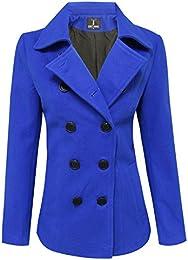 Amazon.com: Blue - Wool &amp Blends / Wool &amp Pea Coats: Clothing