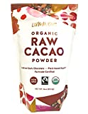Luminous Foods Organic, Fairtrade, Unsweetened Raw Cacao Powder. (Cold Pressed, Raw Cocoa) (16oz)