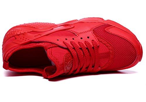 MXXM Casual Rosso Scarpe Running Uomo Sportive all'Aperto Donna Trekking B Corsa Fitness da Ginnastica Sneakers Interior 767Brwq