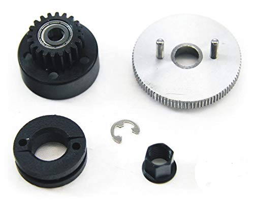 (CLASSIC?T-maxx?2.5?CLUTCH,?flywheel?&?gear?(shoes,?spring,?nut?20t?Traxxas?49104 by Traxxas)