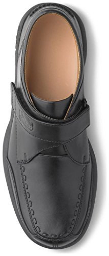 Dr. Comfort Frank Men's Therapeutic Diabetic Extra Depth Dress Shoe: Black 7 Wide (E/2E) Velcro by Dr. Comfort (Image #1)'