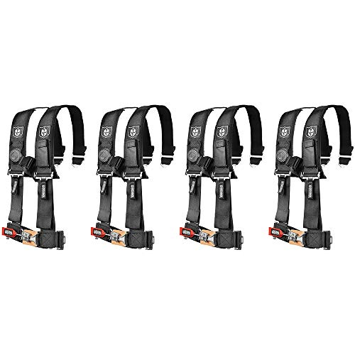 Pro Armor A114220 Black 4-Point Harness (4 Pack)