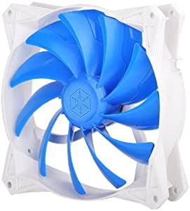 Silverstone Tek 120mm Ultra-Quiet PWM Fan with Anti-Vibration Rubber Pads Cooling FQ122
