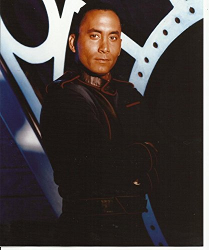 Babylon 5 Richard Biggs Dr. Stephen Franklin in Uniform 8 x 10 Photo