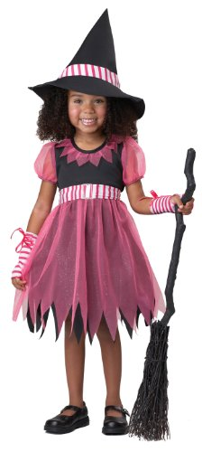 California Costumes Pinky Witch Costume, 4-6