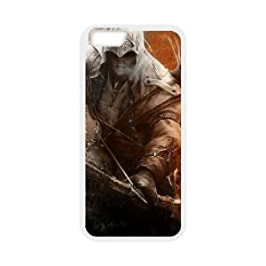 assassin's creed iii iPhone 6 Plus 5.5 Inch Cell Phone Case White yyfD-378582