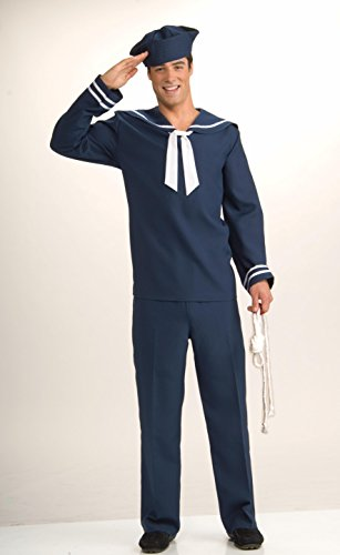 Ahoy Matey Adult Costumes (Ahoy Matey Adult Costume - Standard (One-Size))