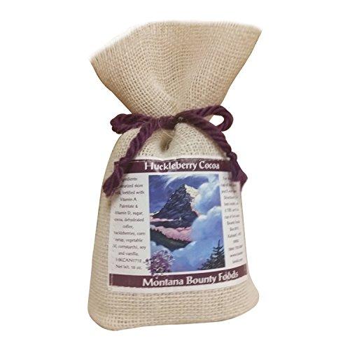montana-bounty-foods-huckleberry-cocoa-powdered-drink-mix-beverage-in-a-rustic-burlap-bag-huckleberr