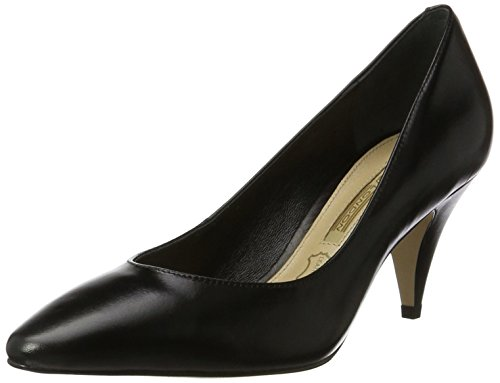 Buffalo Damen Zs 7446-16 Nappa Pumps Schwarz (nero 01)