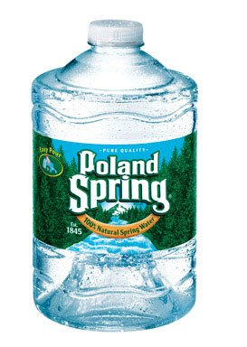Poland Springs Bottled Water - Poland Spring Water - 3 lt - 6 ct