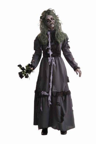 Forum Novelties Women's Zombie Lady Costume, Gray, Standard