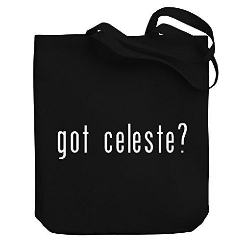 Teeburon Got Celeste? Canvas Tote Bag ()