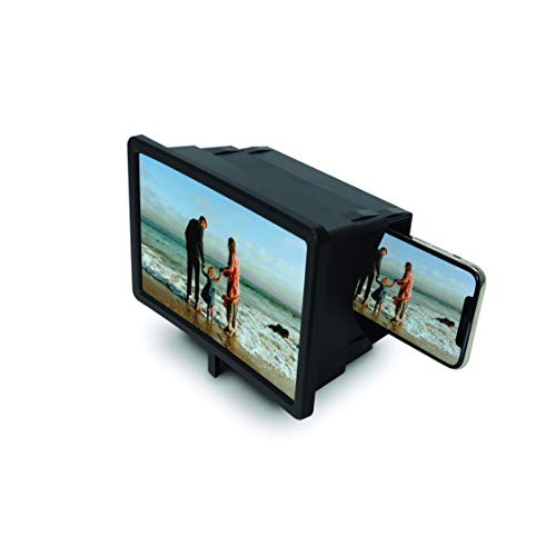Big Picture Smartphone Magnification System Viewing Screen That is Two Times Bigger Cell Phone Magnifier 3D Screen Enlarge Video Movie