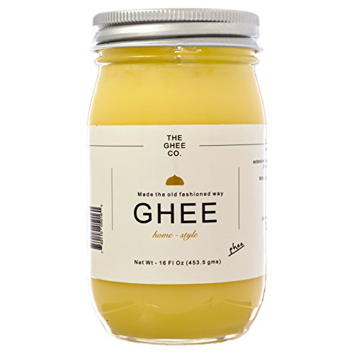 The Ghee Co., Pure Ghee made with Grade AA Unsalted butter, 16 fl oz