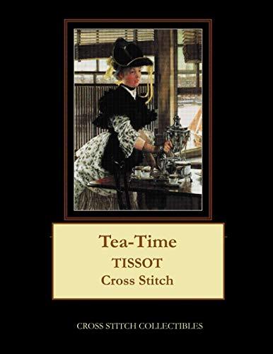 Tea-Time: Tissot Cross Stitch Pattern