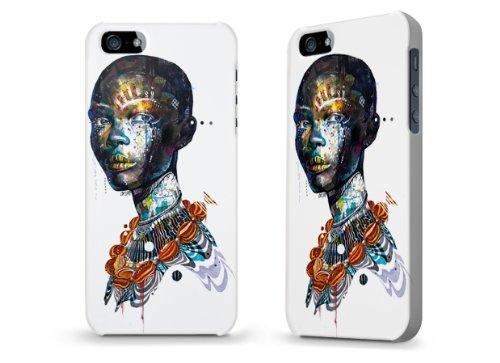 """Hülle / Case / Cover für iPhone 5 und 5s - """"Zebra"""" von Minjae Lee"""