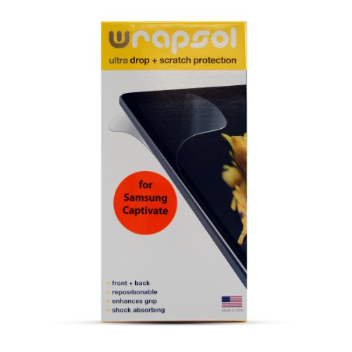 Wrapsol Ultra Drop Scratch Protection Film for Samsung Ca...