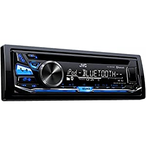 JVC KD-R870BT CD/MP3 Car Stereo USB AUX AM/FM Radio iPod/iPhone/Android Receiver with Dual Phone Connection Built in Bluetooth and Hands Free Calling and Audio Streaming with Remote Control