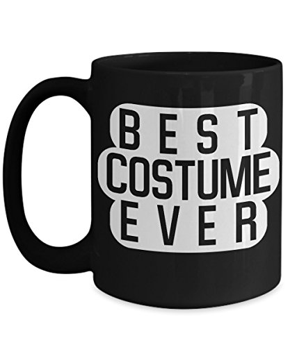 Best Costume Ever Halloween Coffee Lover Mug-Sarcastic Witty Humorous Gift Cup -