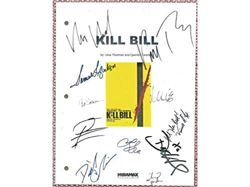 NHMug Kill Bill Movie Script Signed Autographed Gifts for Lovers Poster [No Framed] Poster Home Art Wall Posters (24x36) -