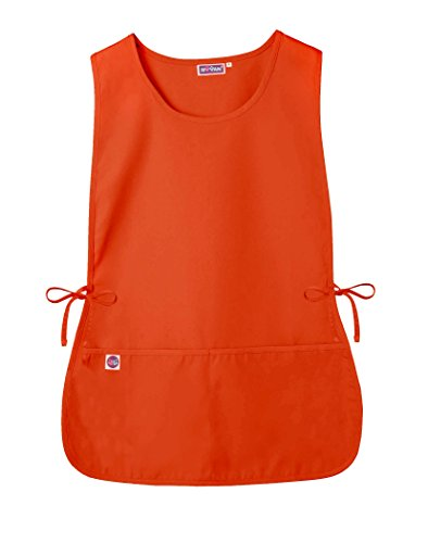 - Sivvan Unisex Cobbler Apron - Adjustable Waist Ties, 2 Deep front pockets - S8700 - Mandarin Orange - R