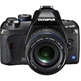 Olympus Evolt E420 10MP Digital SLR Camera with 14-42mm f/3.5-5.6 and 40-150mm f/4.0-5.6 ED Zuiko Lenses