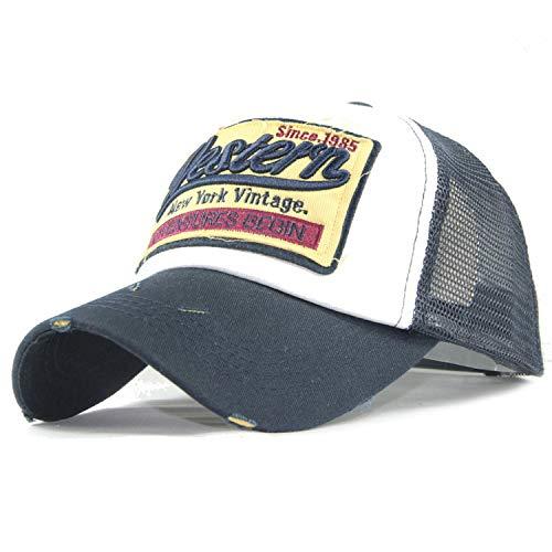 キャップ 男性 ヒップホップ 野球帽 夏帽子 カジュアル女性 刺繍 サンバイザー帽子,グレー
