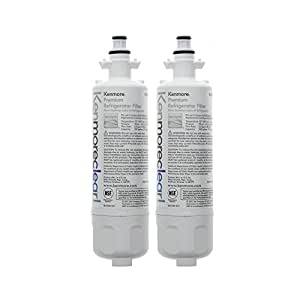 Kenmore 46-9690 Refrigerator Water Filter, Clear, 2-Pack