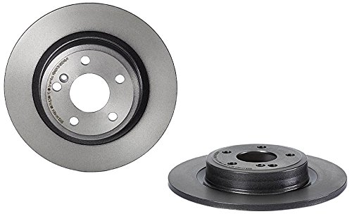 Brembo 08.B348.41 Rear UV Coated Disc Brake (08 Rear Disc Brake)