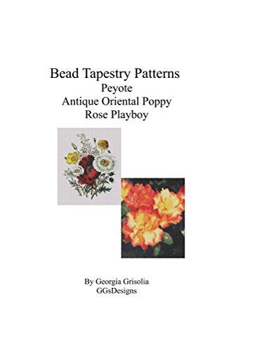 Bead Tapestry Patterns Peyote Antique Oriental Poppy Rose Playboy