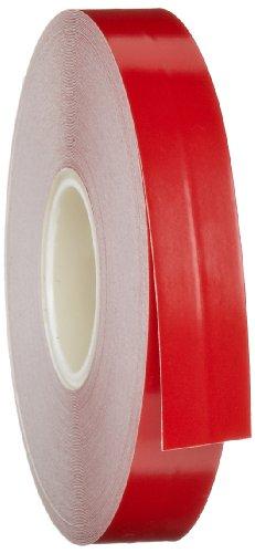 Aisle Red Tape Marking (Brady Nonabrasive Border Line Floor Marking Tape, 50' Length, 1/2