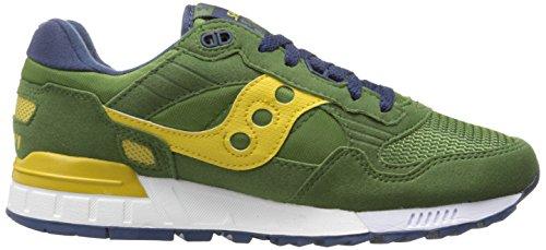 Originali Di Saucony Mens Shadow 5000 Classic Sneaker Retrò Verde