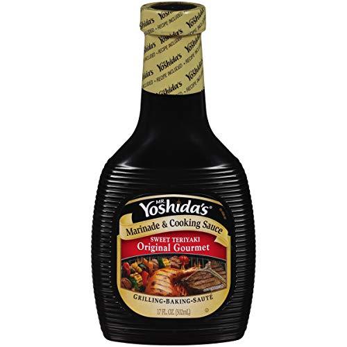 Mr. Yoshida's Original Sweet Teriyaki Marinade & Cooking Sauce (17 oz Bottle)